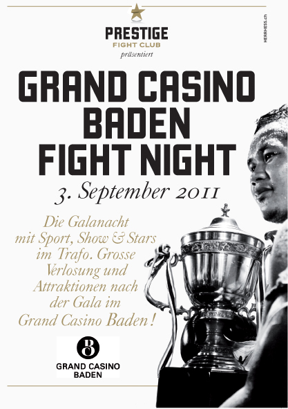 grand casino baden prestige fight club